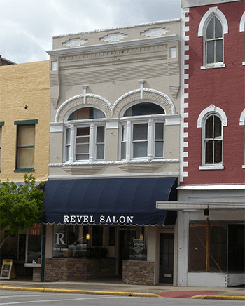 Revel Salon - Facade Grant Recipient